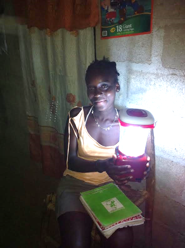 Solar lighting for Christmas