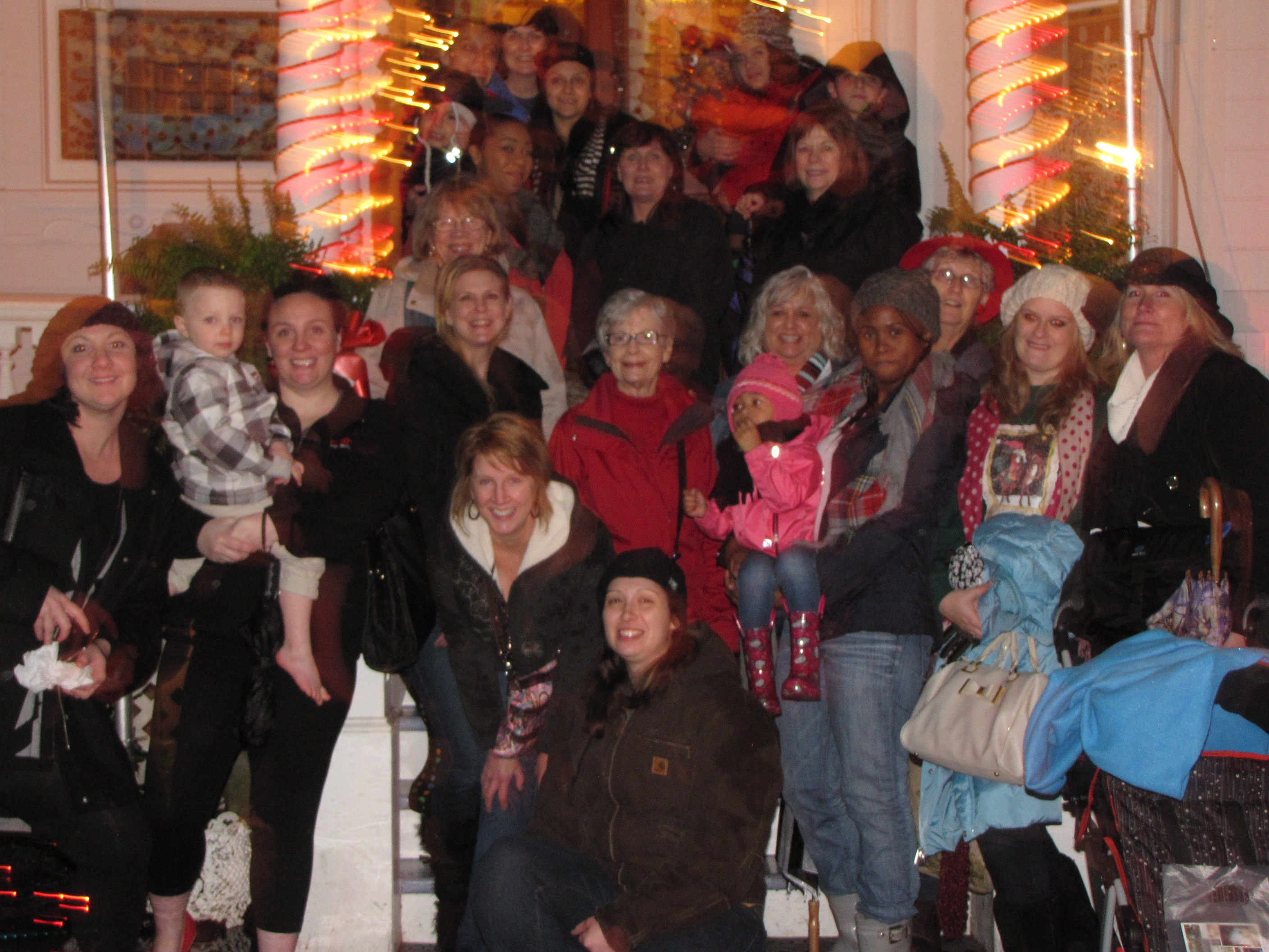Mentoring program Christmas outing